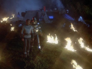 The Night the Cylons Landed, Part I