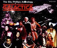 Cover for The Stu Phillips Anthology Battlestar Galactica