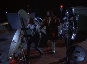 The Night the Cylons Landed, Part II