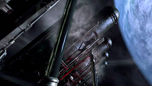 Cylons and Colonials converge on a planet where the Eye of Jupiter is located