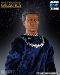 Colonel Tigh Limited Edition Collectible Figure