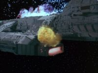 Die Galactica brennt