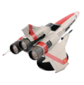 Eaglemoss - BSG 1 - Viper Mark II - 4.png