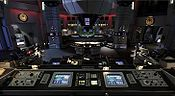 The Combat Information Center of Galactica.