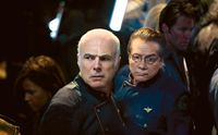 The Plan - Tigh and Adama in Galactica Corridor.jpg