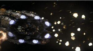 Battle of the Guardian Basestar