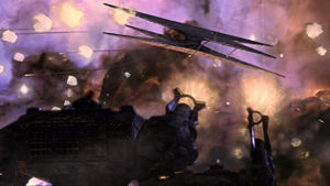 Cylons forces ambush the mysteriously crippled Colonial Fleet