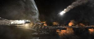 Fall of the Scorpian Ship Yards
